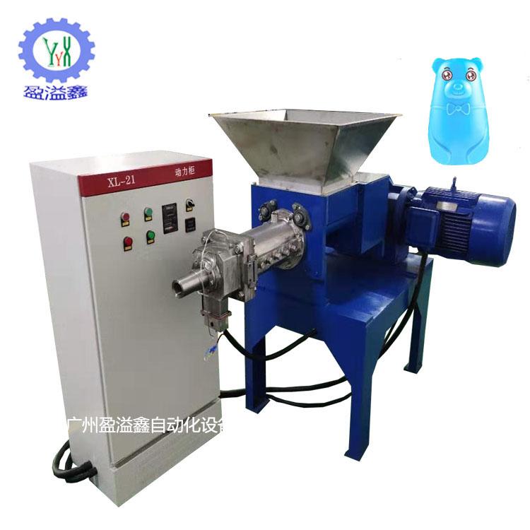 供应蓝泡泡葫芦灌装出条机可调速灌装机固体液体出条机